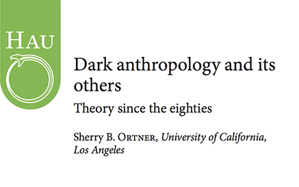 Dark Anthropology And Its Others